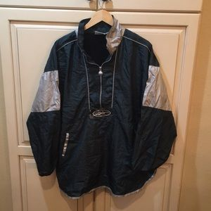 Crazy dope vintage 90s reebok windbreaker jacket